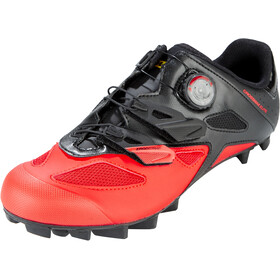 Mavic Crossmax Elite Schoenen Heren, black/fiery red/black